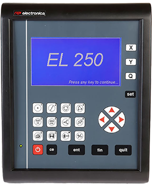 DRO EL250 by EMS has all basic measurement functions along with result storage and pc-transfer facility. It also supports direct connectivity with serial thermal printer