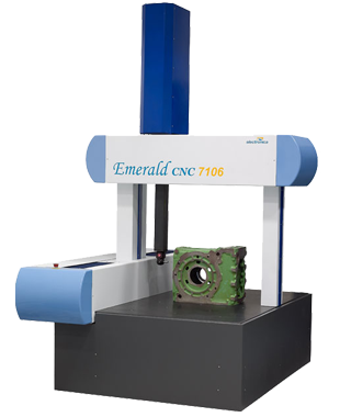 Emerald by EMS - specifically designed and built to perform precise measurement of heavy duty parts